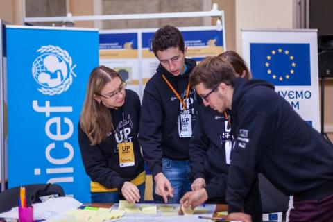 UPSHIFT Ukraine empowers young people by developing their social entrepreneurial skills and providing funds for youth-driven projects.