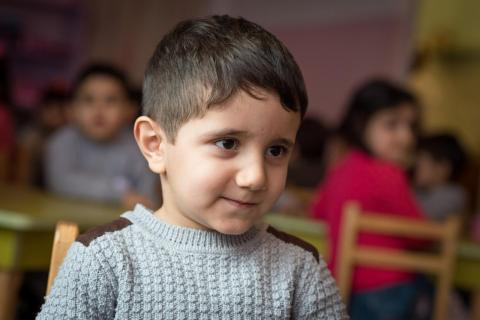 "Avet, age 4, knows that salt matters. ""I always help my mom with the cooking; I add the salt,"""