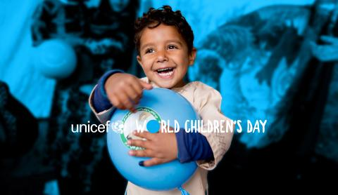 Join us on World Children's Day – 20 November