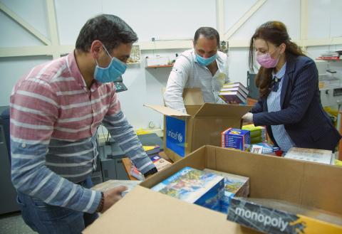 UNICEF continues to deliver professional protective supplies to Armenia