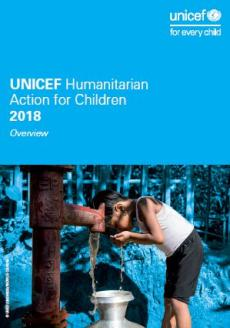 Humanitarian Action for Children 2018 report cover