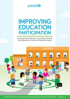 Improving education participation report cover