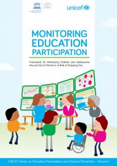 Monitoring education participation report cover