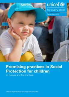 Promising practices in Social Protection report cover
