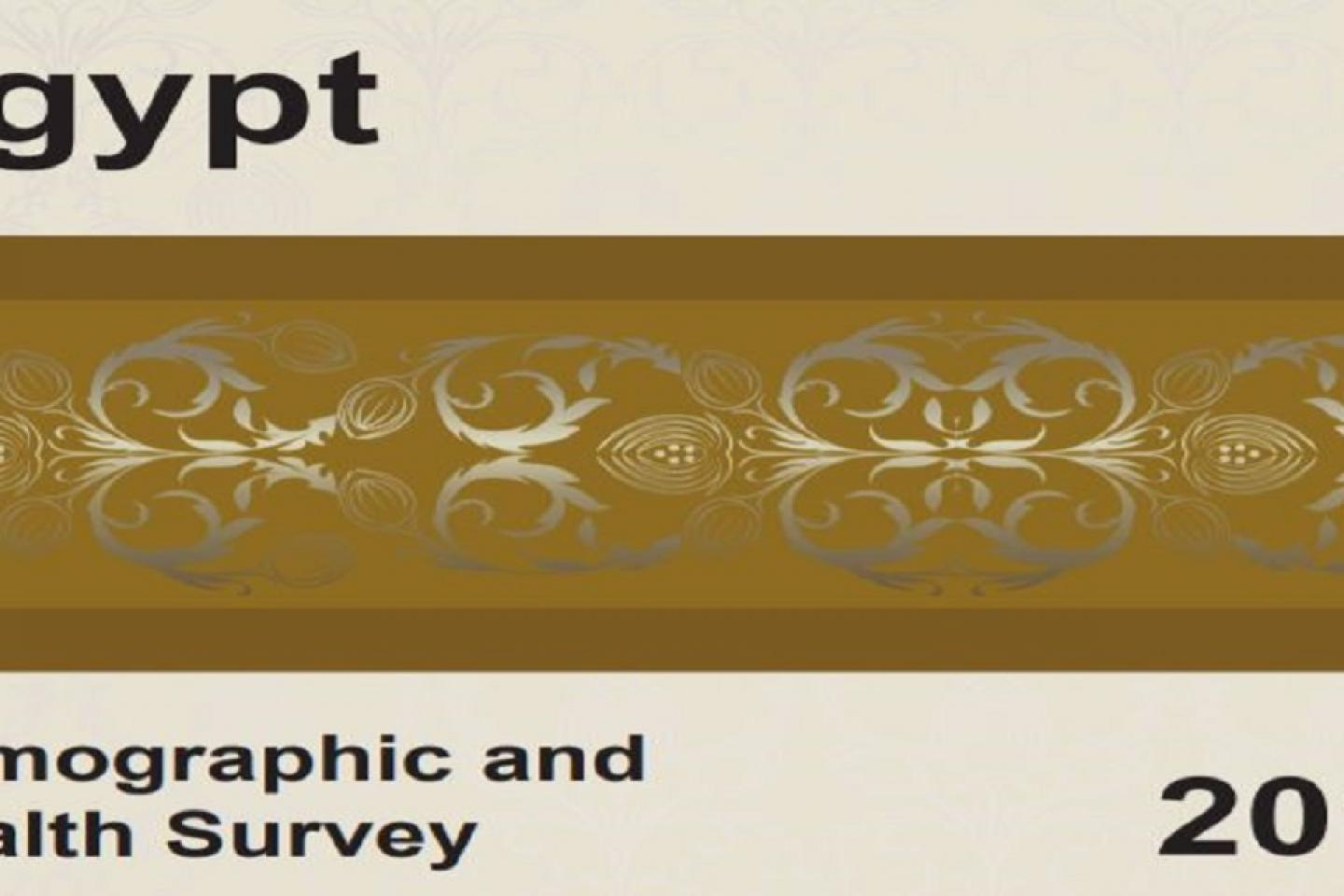 Egypt Demographic and Health Survey 2014