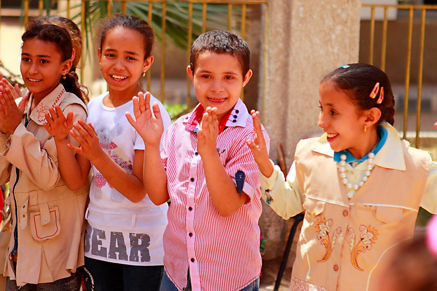 Children in Egypt