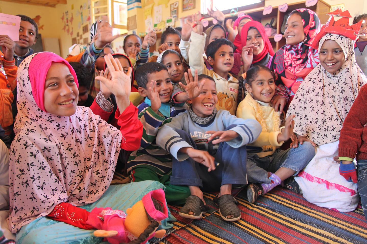 UNICEF's work in Egypt
