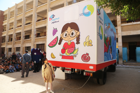 Highlights from the first-of-a-kind vehicle spreading awareness on Health