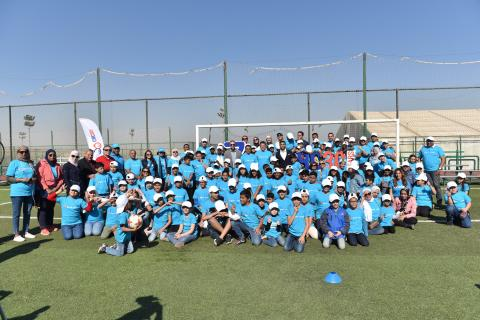 Al Ahly Sporting Club joins UNICEF in celebrating 30 years of Child rights.
