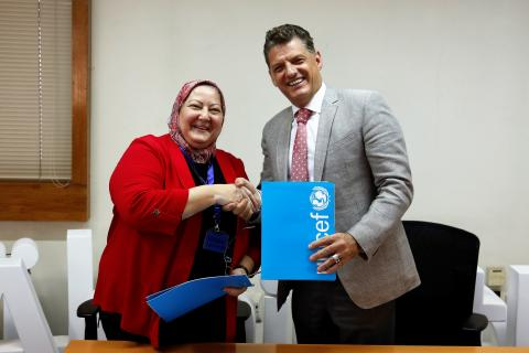 The Faculty of Economics & Political Science (FEPS), Cairo University partners with UNICEF for better knowledge production