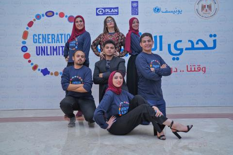 Meet one of Egypt's two finalists running for the global youth challenge