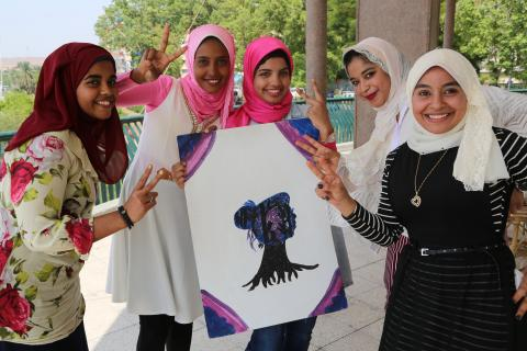 Girls from Aswan are starting their business as early as high school