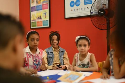 How a UNICEF-supported Child Protection Center helped three children during tough times?