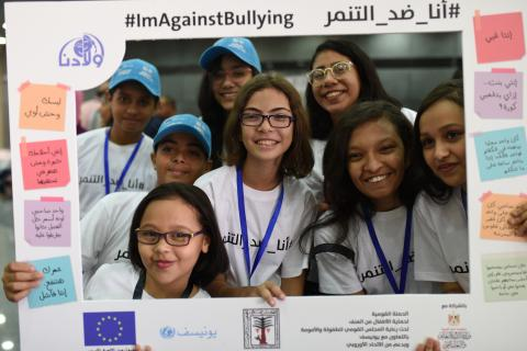 #ImAgainstBullying national Campaign, supported by the EU, attracts huge public attention and triggers a commitment for change