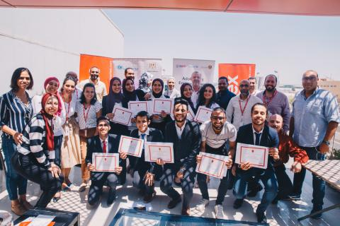 Aramex trains and graduates ten new Meshwary beneficiaries