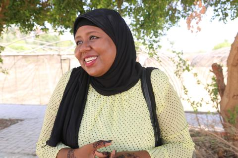 How a young Nubian girl managed to find her dream job across the sea?