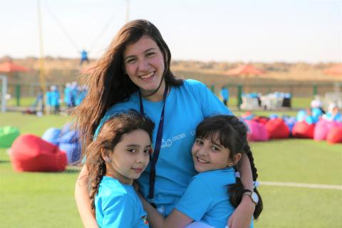 UNICEF Egypt celebrates the World Children's Day by organizing an entertaining event for 100 children beneficiaries at Al Ahly Sporting Club