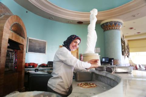 The journey of a girl from Upper Egypt to become the first female chef in a touristic resort