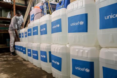 UNICEF is working closely with the Government of Egypt and partners to keep children and their families safe and to support frontliners during the pandemic.