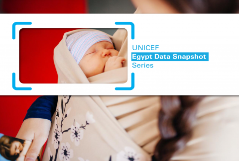 The Data Snapshots provides accessible and visually appealing overviews of issues related to children and youth in Egypt supported by up-to-date data. It also provides information on what UNICEF is doing to address such issues. Each snapshot is produced by UNICEF Egypt using recent evidence and integrating data from multiple sources. The aim of the series is to provide better understanding and encourage deeper discussion on issues important to children and youth.