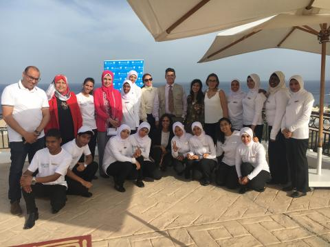 """Meshwary"" offers training opportunities for youth at Hilton Hotel"