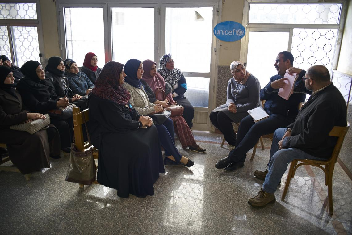 UNICEF Egypt creates a better environment for refugees in their new hosting communities through healthcare services and psychosocial support.