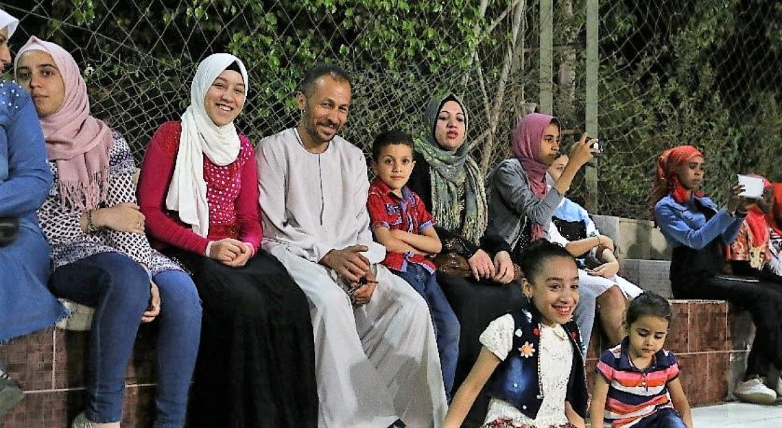 Egyptians, Syrians and Sudanese united by football love