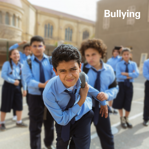 Bullying is a form of aggressive behavior that occurs in an intentional and repeated manner causing another child to feel hurt