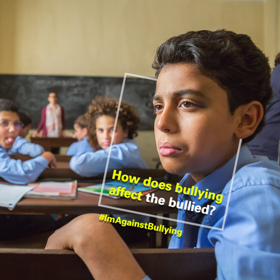 How does bullying affect the bullied?