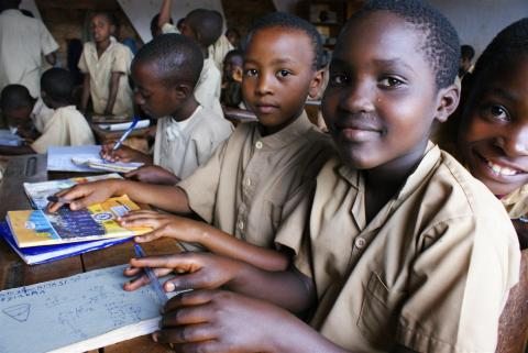 School children in Tanzania