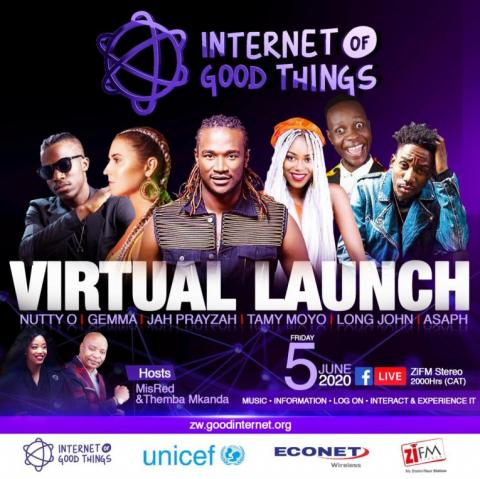 Virtual launch IoGT Zimbabwe