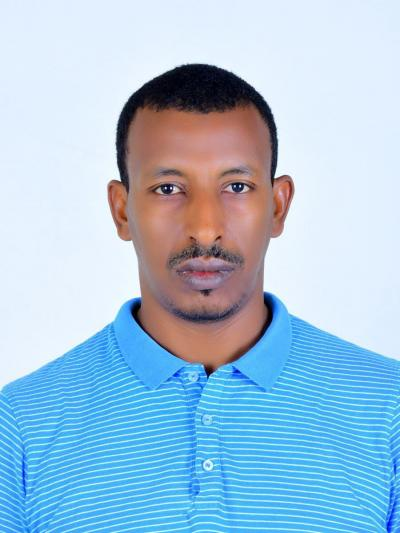 Abubeker Mohammed Amin, who is 34 years old, is the head of ACCIDA Youth Organization in Ethiopia's Afar region.