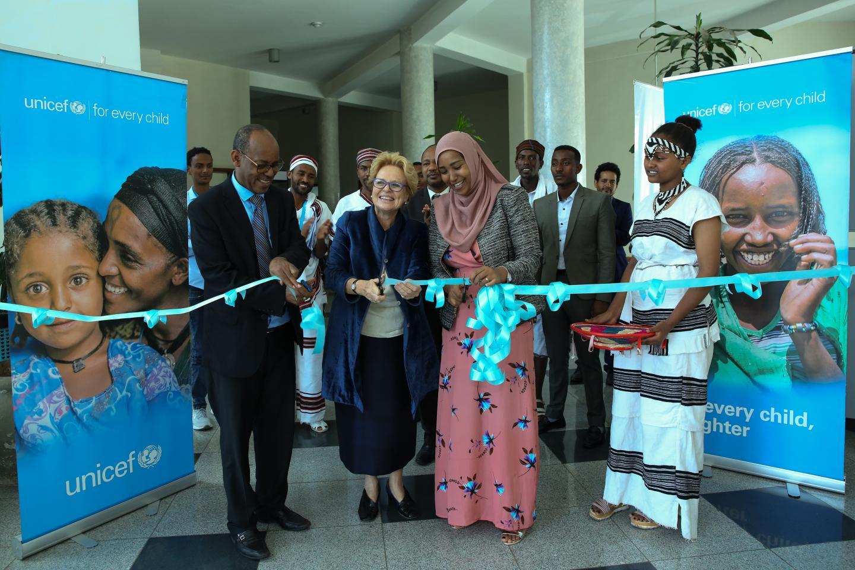 Commemorating UNICEF's 65th anniversary in Oromia Region, Ethiopia