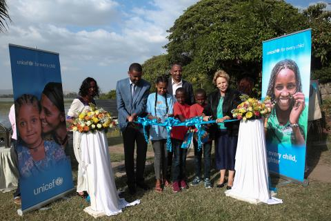 UNICEF 65 years in Ethiopia celebration