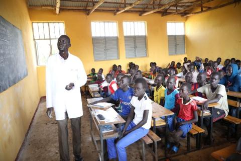 Inauguration of 84 Refugee Primary School Classrooms in Gambella Region