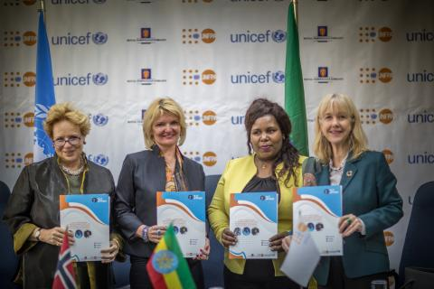 Royal Norwegian Embassy grants NOK 100 million in support of the UNFPA-UNICEF Joint Programme on Rights-Based Approach to Adolescent and Youth Development in Ethiopia