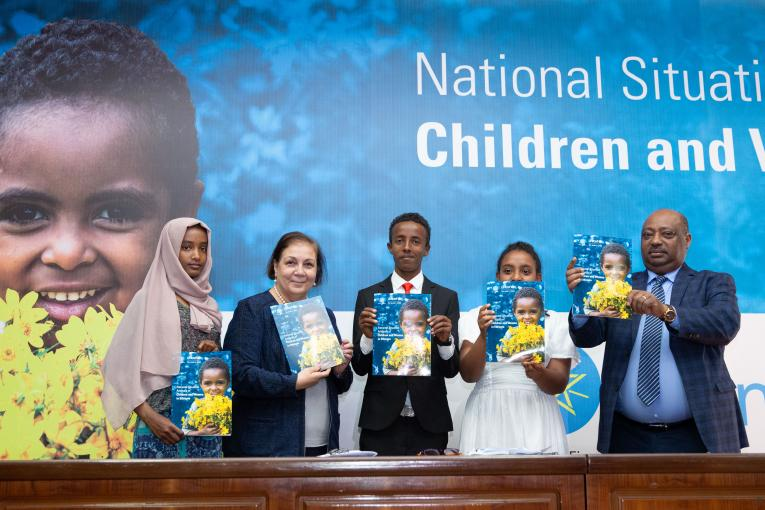 Launch of National Situation of Children and Women in Ethiopia