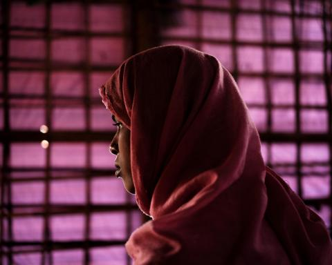 Shafika Begum, 15, is a survivor of a counter-insurgency crackdown in the village of Tula Toli,