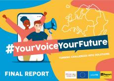 Report Cover #YourVoiceYourFuture