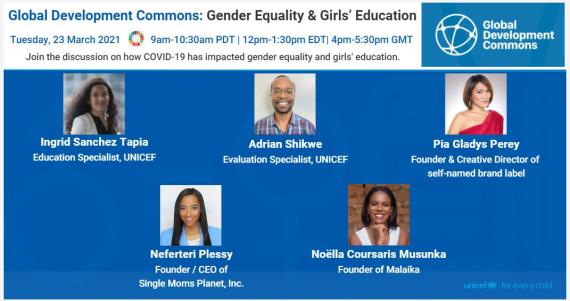 Gender Equality and Girls Education GDC Flyer FINAL