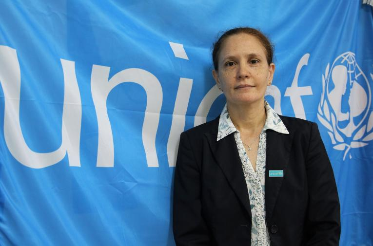 UNICEF The Gambia Representative, Sandra Lattouf