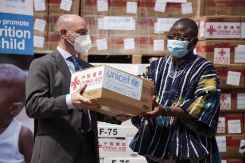 UNICEF Deputy Representative and Ghana Health Service