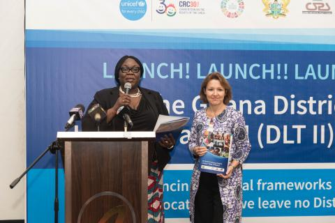 The launch of the DLT II in Accra