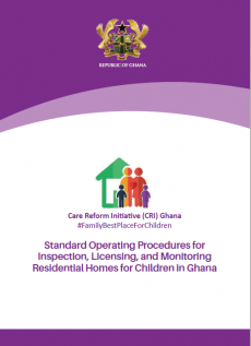 SOP - Inspection, Licensing and Monitoring of Residential Homes for Children