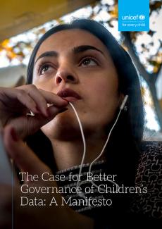 The Case for Better Governance of Children's Data: A Manifesto