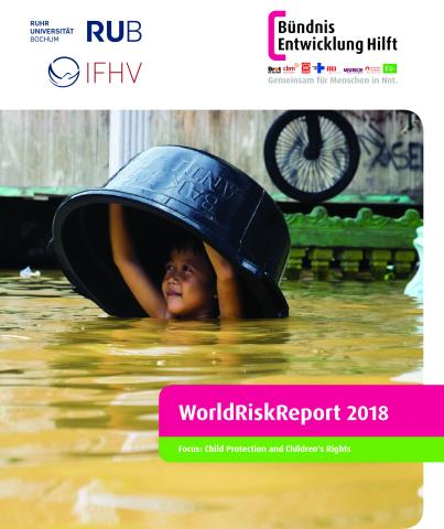 portada de WorldRiskReport 2018