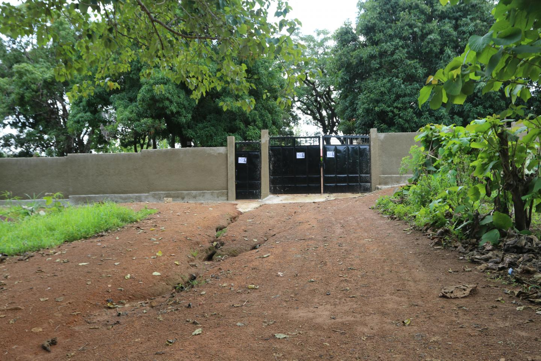 Cour du collège Babadi Camara de Ouré-kaba