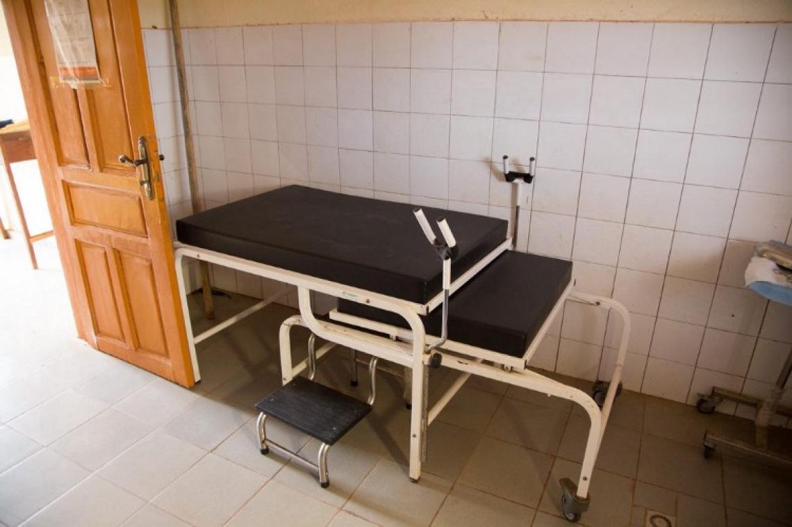 Tintioulén bénéficie d'une table d'accouchement