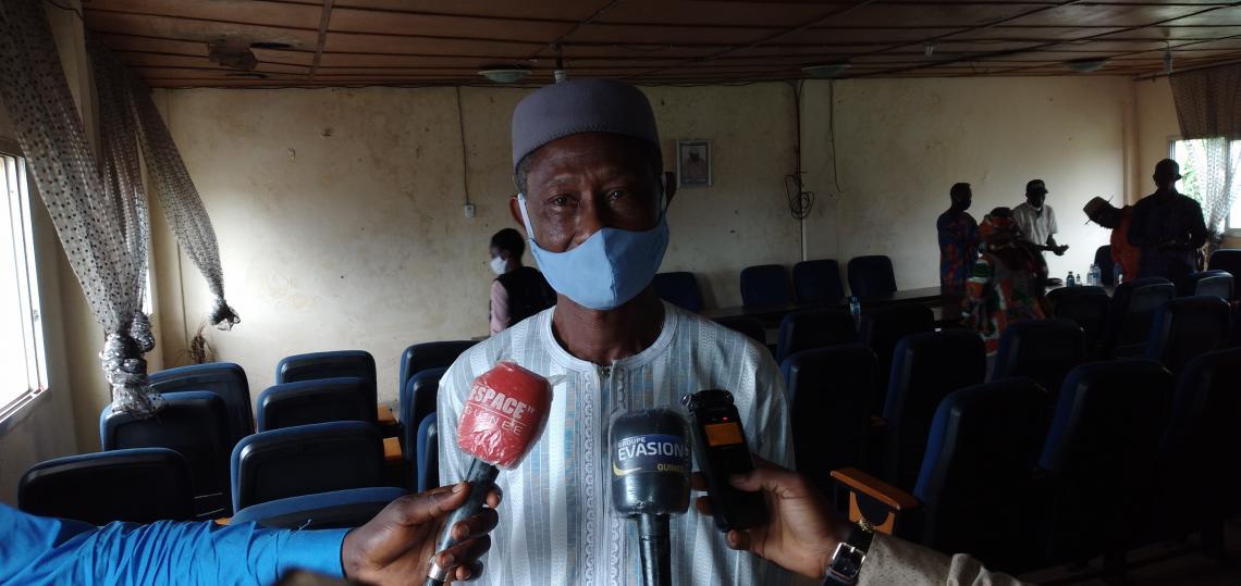 Mohamed Camara, Chef de quartier de Madina-Mosquée, Coordinateur des Chefs de quartiers de la commune de Matam
