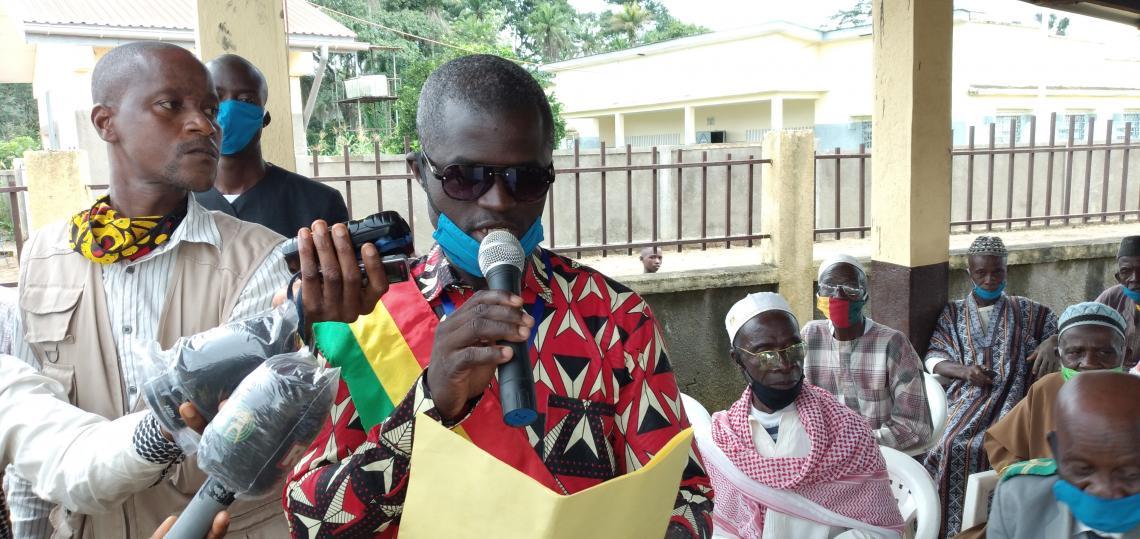 Morigbè Camara, Maire de la commune rurale de Sengbédou